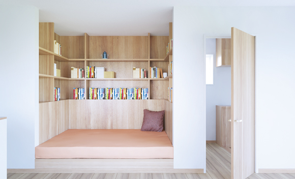 図書館のような書斎