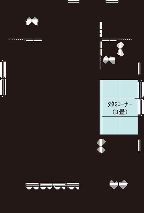 玄関とLDKをゆるくつなぐプラスαの小空間